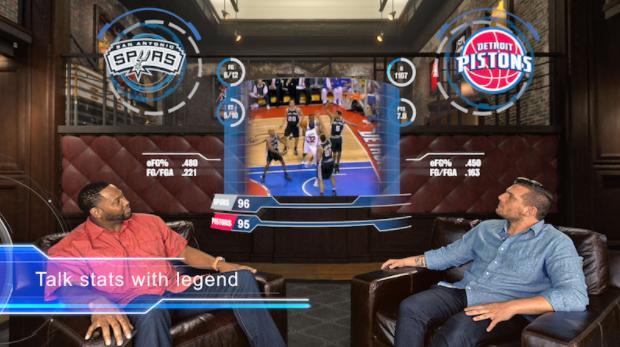 NBA: TV en realidad virtual